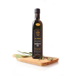 Extra Virgin Olivenöl Al Torcio Leccino 0,5 Liter